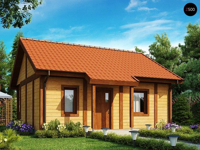 Финский каркасный дом Z42